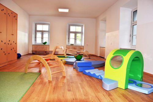 Das neugestaltete Erdgeschoß bietet Platz für zwei Kleinkindgruppen.
