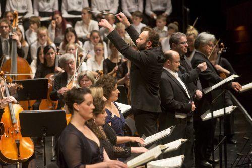 Das Symphonieorchester Vorarlberg hat die aktuellen Konzerte abgesagt, weitere unter Kirill Petrenko wackeln. SOV/Mathis