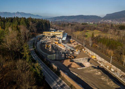Das Unternehmen Kessler bewegt's wälzt seit geraumer Zeit im Galinawald in Nenzing Expansionspläne für eine Betriebserweiterung.VN/Paulitsch