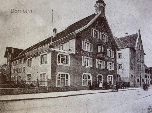 Das Vereinshaus mit Saal war bis zum Großbrand im Jahr 1979 ein Ort der Politik und Kultur.Sammlung Wladika, Weber, Huter