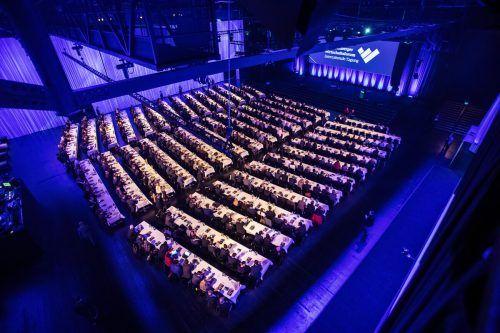 Das Vorarlberger Wirtschaftsforum ist seit Jahrzehnten Fixpunkt im Veranstaltungskalender von Unternehmern, Managern und Politikern. VN/Steurer