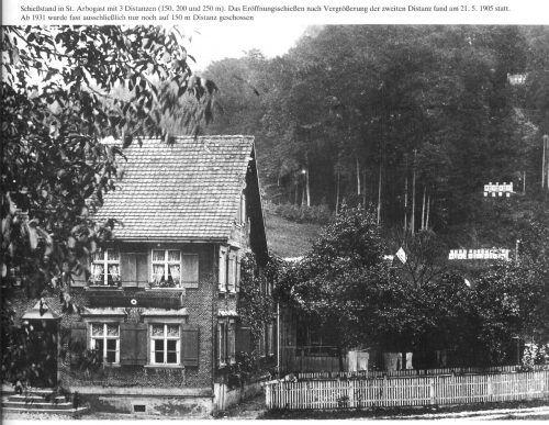 Den Schießstand bei der Schützenwirtschaft gibt es seit dem Jahr 1905.HAndout Lucia Rubert