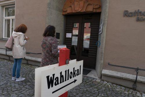 Der Andrang auf die Wahllokale war in Feldkirch verhalten.