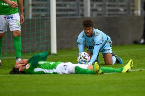 Der Ball wollte einfach nicht ins Tor. Pech, aber auch Unvermögen führte zur 0:1-Niederlage der Austria gegen die OÖ Juniors.???