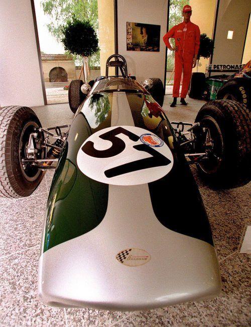 Der Brabham BT-16 aus dem Jahre 1965.gepa