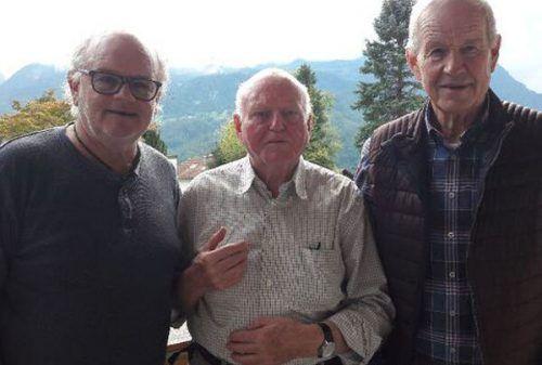 Der Jubilar Arthur Wolf konnte seinen85. Geburtstag feiern. PV OG Nüziders