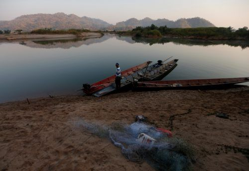 Der Mekong ist einer der gewaltigsten Ströme des Planeten. Die anhaltende Trockenheit in Folge des Klimawandels ist besonders an seinen Ufern spürbar. Reuters