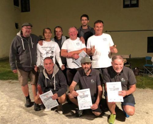 Der Rankweiler Petanqué-Verein freut sich über Silber und Bronze. privat