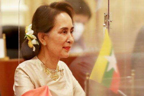Der Sacharow-Menschenrechtspreis wurde Suu Kyi nicht entzogen. AFP