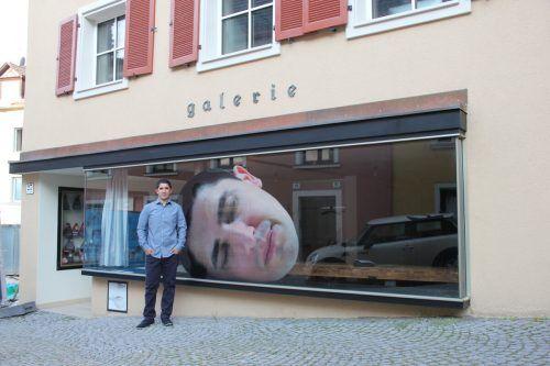 Der spanische Künstler Daniel Rendón Guerrero lebt und unterrichtet seit 2008 in Bregenz. ag