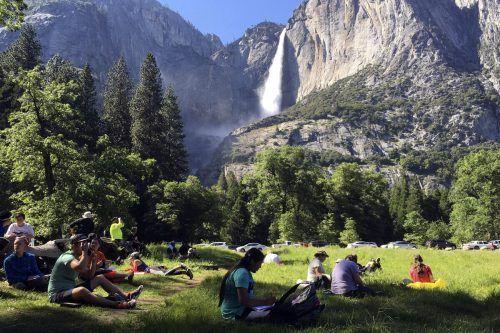 Der Yosemite-Park lockt jährlich mehr als vier Millionen Besucher an. AP