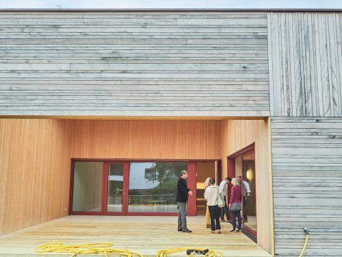 """Der Zubau des Kindergartens """"Am Schlatt"""" soll vielseitige Ein- und Ausblicke gewähren und Wohlfühlatmosphäre schenken. Gemeinde (2)"""