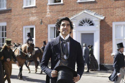 Dev Patel versucht als David Copperfield der Misere und Armut zu entfliehen. ap
