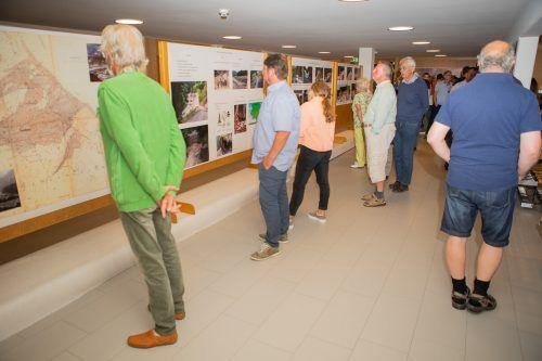 Die Ausstellung im Foyer der Rätikonhalle kann heute noch besichtigt werden.