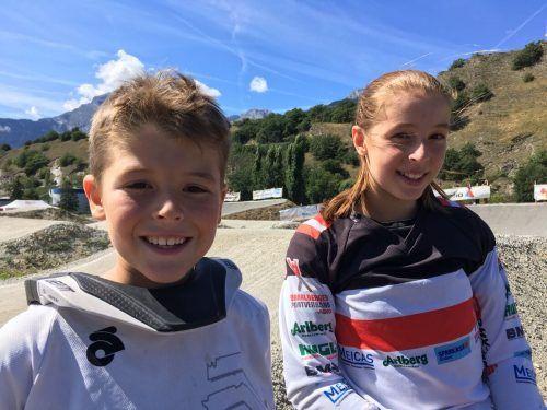 """Die beiden Bludenzer Valentin und Hannah Muther standen kürzlich beim BMX-Rennen """"King of Prag"""" am Start.BMX Club Bludenz"""