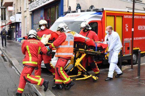 Die beiden Verletzten sind außer Lebensgefahr.