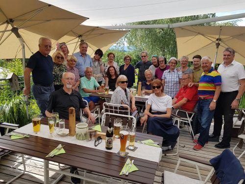 Die Bregenzer 47er-Jahrgänger machten einen Ausflug in den Bregenzerwald.Jahrgang 1947