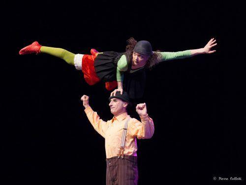 Die Compagnia Baccalà beeindruckt mit Akrobatik und Humor.Caravan