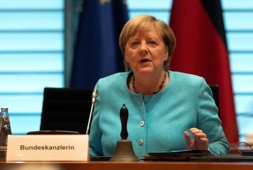 Die deutsche Regierungschefin ist beunruhigt. reuters