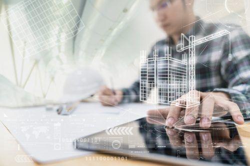 Die Digitalisierung und Automation spielen beim modernen Bau eine bedeutende Rolle.