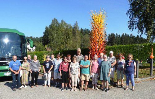 Die Götzner Pensionisten besuchten bei ihrer Herbstfahrt auch das Nagelberger Glasmuseum. PVö ortsgruppe Götzis