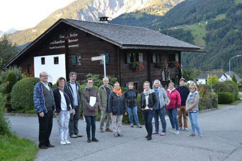 Die Gruppe der sehr interessierten Teilnehmer mit den Referenten Michael Kasper und Alexander Haumer.BI