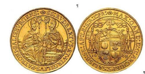 Die historischen Goldstücke haben einen Wert von mehr als 100.000 Euro. Privat