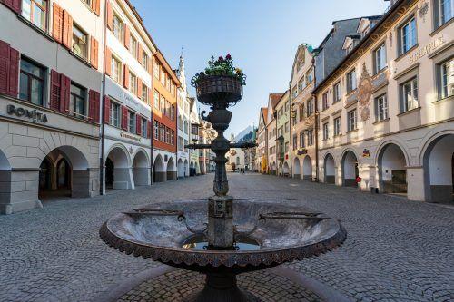 Die Innenstadt von Feldkirch gilt architektonisch als Perle. Die Unzufriedenheit der Händler nimmt aber zu. VN/Steurer