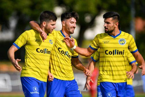 Die Kicker des VfB Hohenems jubelten über den Sieg beim SC Schwaz und das Erreichen der zweiten Runde im ÖFB-Cup. Lerch