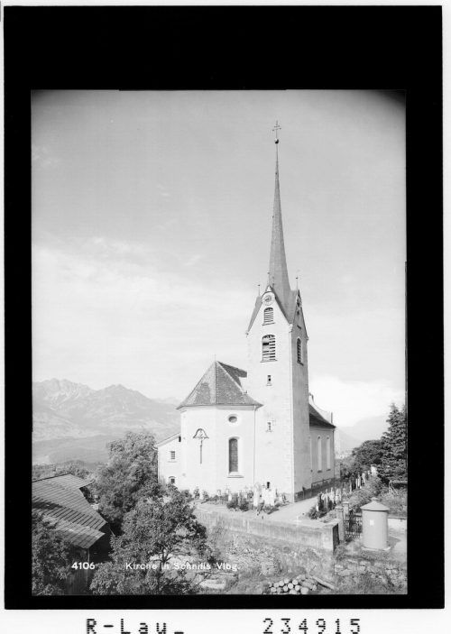 Die Kirche ist Johannes dem Täufer geweiht.