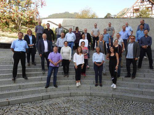 Die neue Göfner Gemeindevertretung traf sichzur Klausur in der Propstei St. Gerold. gemeinde/Gabriel