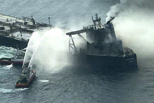 "Die ""New Diamond"" hat 270.000 Tonnen Rohöl an Bord. AFP"