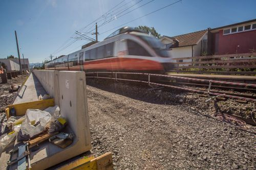 Die ÖBB weisen die Kritik aus Götzis zum Bahnhofsbau zurück. VN/Steurer