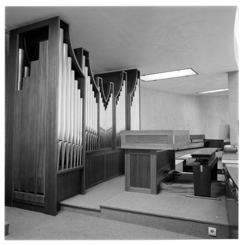 Die Orgel der Kirche Bruder Klaus, die 1966 gebaut wurde.