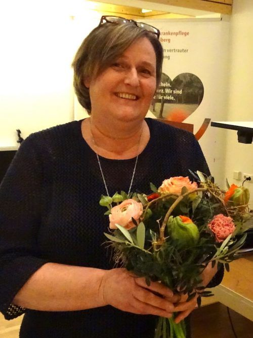 Die Pflegeleiterin des Vereins, Elvira Gamper.tf