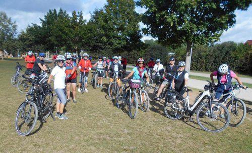 Eine schöne Radwoche erlebten die Senioren-Radfreunde an den Fränkischen Seen. sb