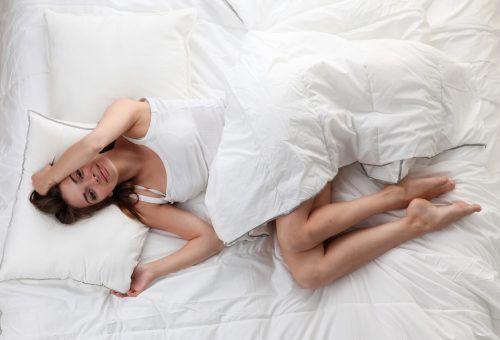 Die richtige Unterlage ist entscheidend dafür, ob man gut schläft.Shutterstock