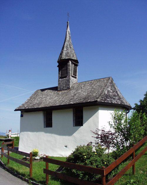 Die Rochuskapelle amÜbersaxner Rainberg.