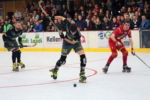 Die Rollhockeyspieler von Dornbirn müssen zum Saisonauftakt in die Schweiz.RHC