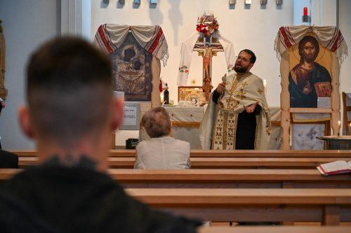 Die Rumänisch-Orthodoxe Kirche feiert Patrozinium.ROK