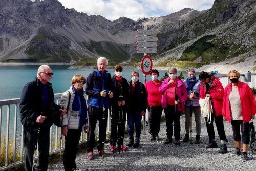 Die Seniorenring-Mitglieder machten einen Ausflug nach Brand an den Lünersee.sr bregenz