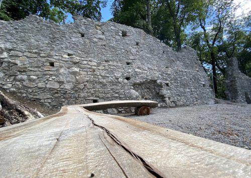 Die Südringmauer beim Konradsbrunnen wurde heuer saniert.the