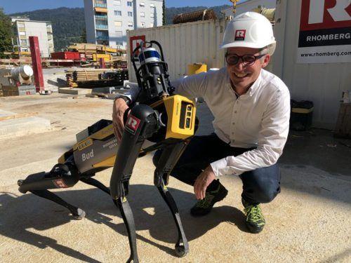 Die tierischen Roboter unterstützen in den Bereichen Dokumentation und Sicherheit. VOL/Andergassen