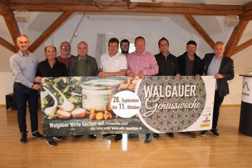 Die Wirte laden mit den zweiten Walgauer Genusswochen zu einer kulinarischen Entdeckungsreise ein.Heilmann