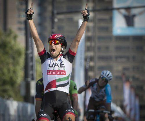 Diego Ulissi gewann die zweite Etappe der Tour de Luxemburg.ap