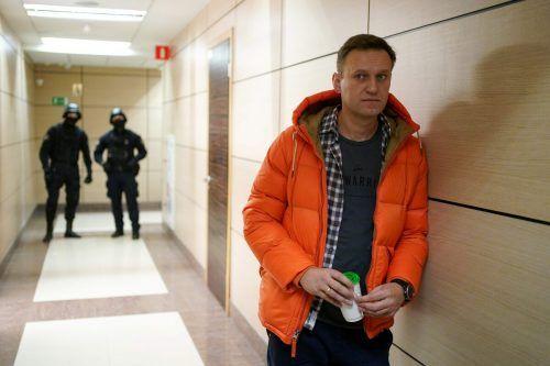 Diese Aufnahme zeigt den Kremlkritiker Nawalny im Dezember 2019. Er war am 20. August während eines Flugs in seine Heimat ins Koma gefallen. AFP