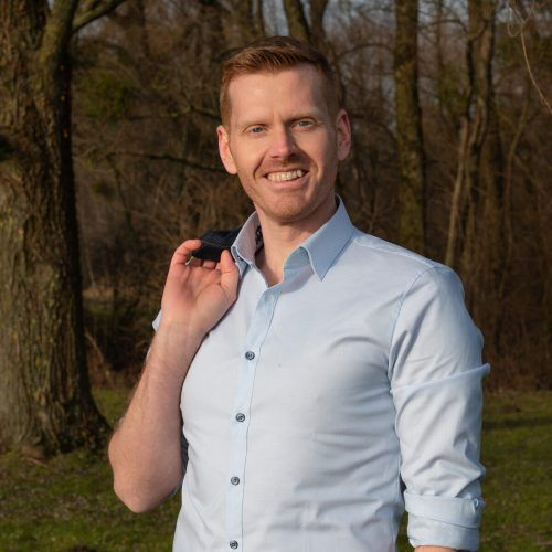 Dominik Greißing (36) ist der Spitzenkandidat der Neos Hörbranz.