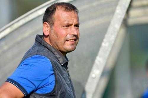 Dornbirns Frederic Winner (l.) erzielte das erste von zwei Toren für die Gäste.LERCH