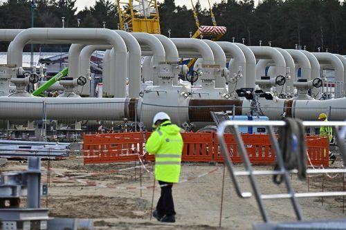 Ein Ende des deutsch-russischen Gaspipeline-Projekts Nord Stream 2 steht im Raum. AFP