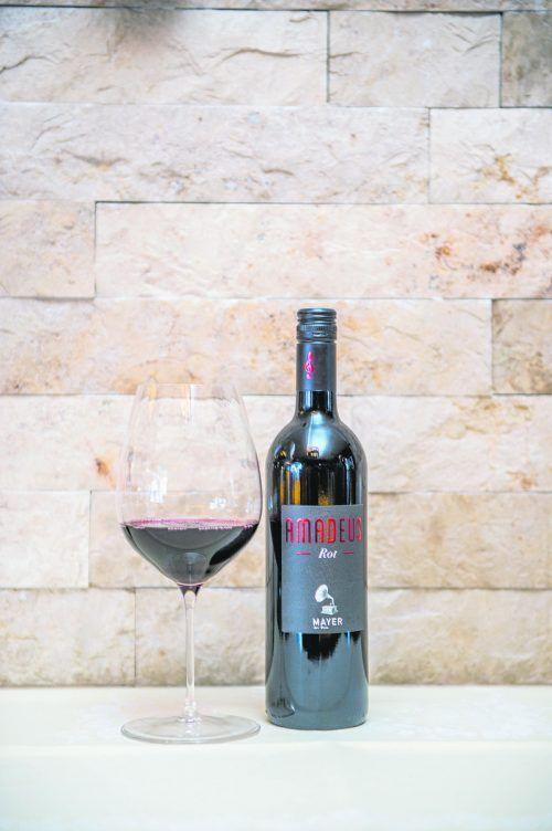 Ein kraftvoller und ausdrucksstarker Rotwein vom Weingut Mayer.Beate Rhomberg